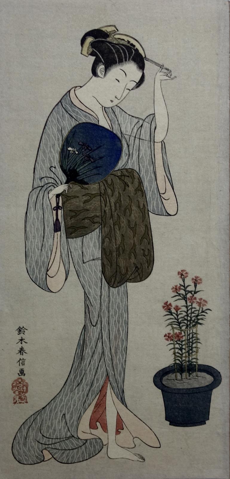 HARUNOBU Suzuki (d\'après)