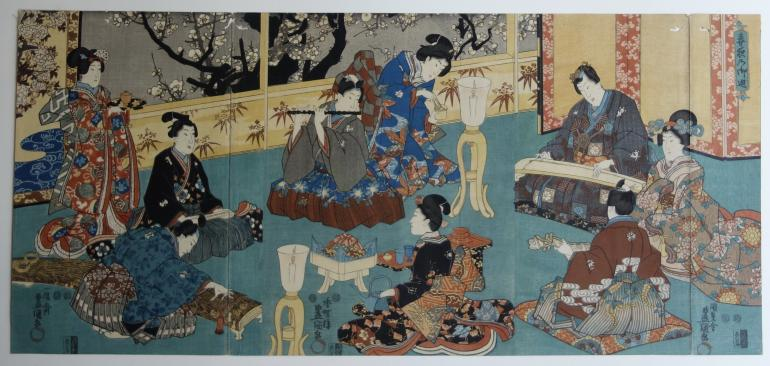 KUNISADA Utagawa, dit TOYOKUNI III