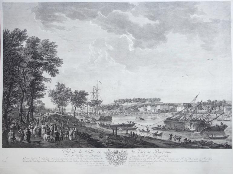COCHIN Charles-Nicolas, le Jeune and LE BAS Jacques Philippe