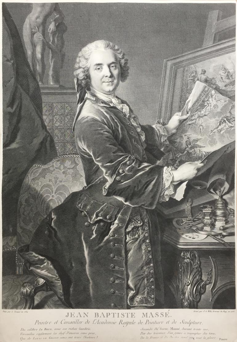 WILLE Johann Georg