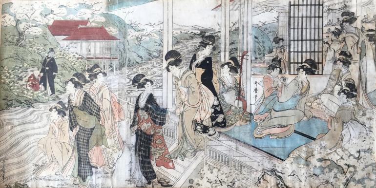 UTAMARO II Kitagawa