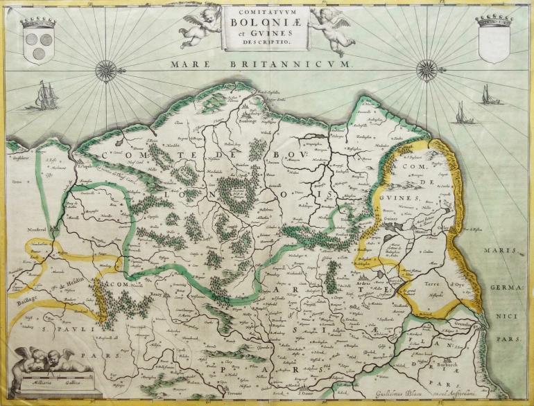 BLAEU Guillaume, Cartographe