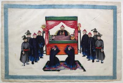 CHINESE SCHOOL OF THE XIXTH CENTURY