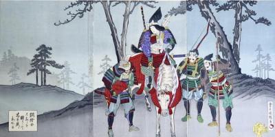 KUNICHIKA Toyohara (entourage de)