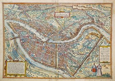 BRAUN Georg et HOGENBERG Frans, cartographers