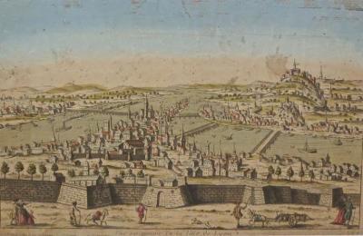 VIEW OF OPTICS OF XVIIIe CENTURY
