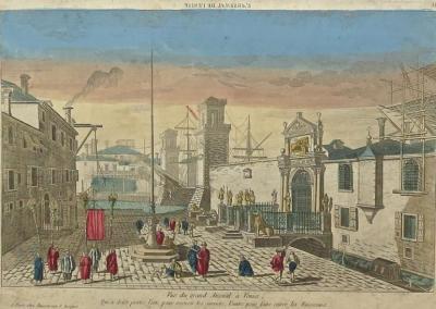 VUE D\'OPTICS XVIII CENTURY